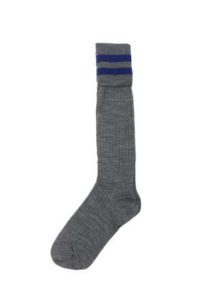 Boys Grey Knee Length Socks
